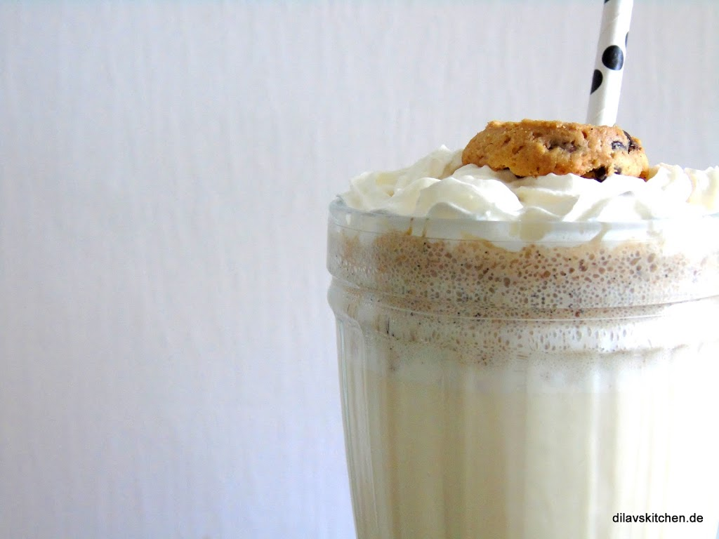 Vanille-Cookie-Dough-Milchshake